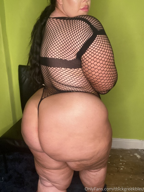 BBW with a Massive White Ass and Jiggly Cellulite Thighs