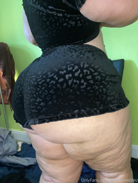 Big Booty BBW with Cellulite Thighs