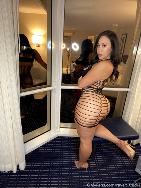 Bubble Butt Latina with Thick Legs and a Big Ass