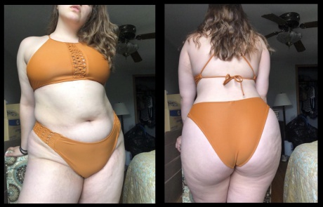 Crazyfishgoescrazy Fat Booty PAWG with a Dimpled Cellulite Ass