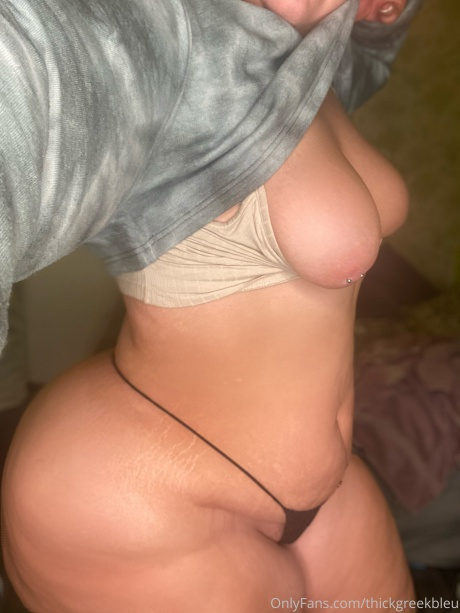 Pierced Nipples Big Hips and Ass