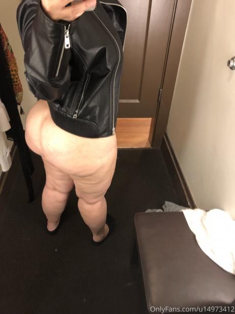 Bottom Heavy PAWG Booty Selfie