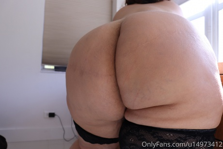 Fat White Ass Cheeks POV Close up