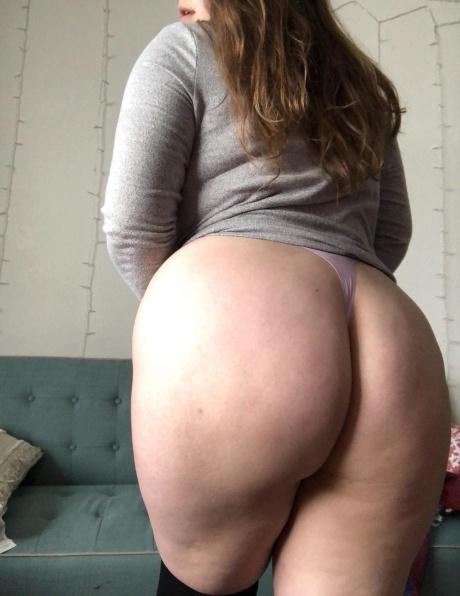 Fat White PAWG Ass