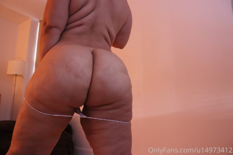 Perfect Big Booty PAWG with a Dimpled Butt