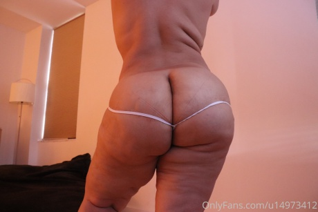 Perfect PAWG Ass in a Tight Thong
