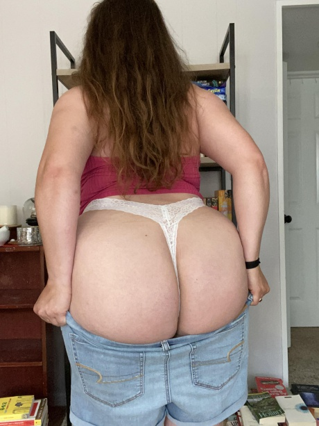 White Onion Booty in Jean Shorts